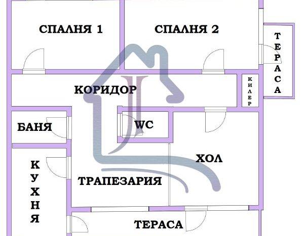 Просторен тристаен апартамент, Нептун