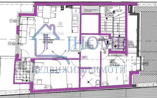 НОВ 3стаен апартамент с ТОП локация
